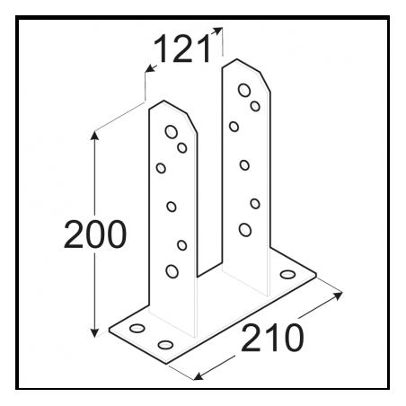 Kotviaca pätka PST 120