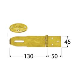 Pánt - ZZK 50 cierna