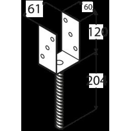 Kotviaca pätka PS60 U