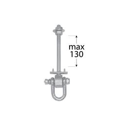 Uchytenie hojdačky - MHD 130