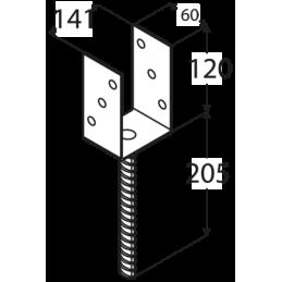 Kotviaca pätka PS140 U