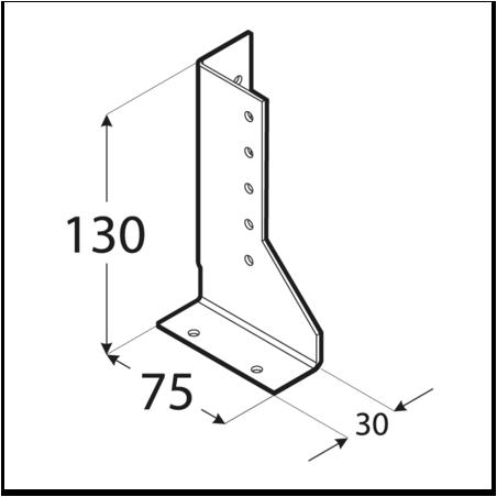 Trámová papuča - WBD 130 Pravá