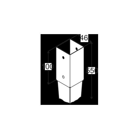 Kotviaca pätka PSG 45/550