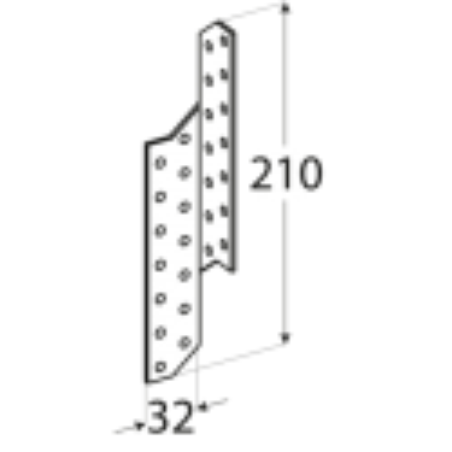 Krokvová spojka - LK 3