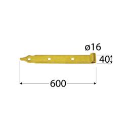 Pánt - ZP 600 d 16 C