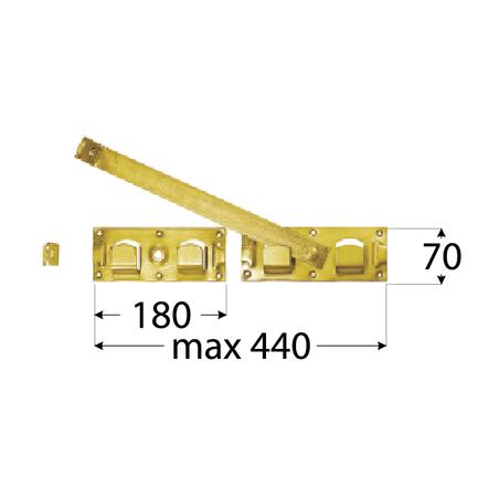 Závora - WBR 440