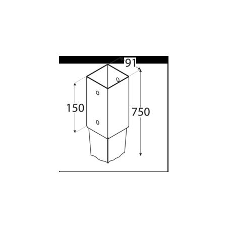 Kotviaca pätka PSG 90/750