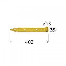 Pánt - ZP 400 d 13 C