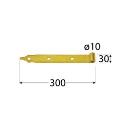 Pánt - ZP 300 d 10 C