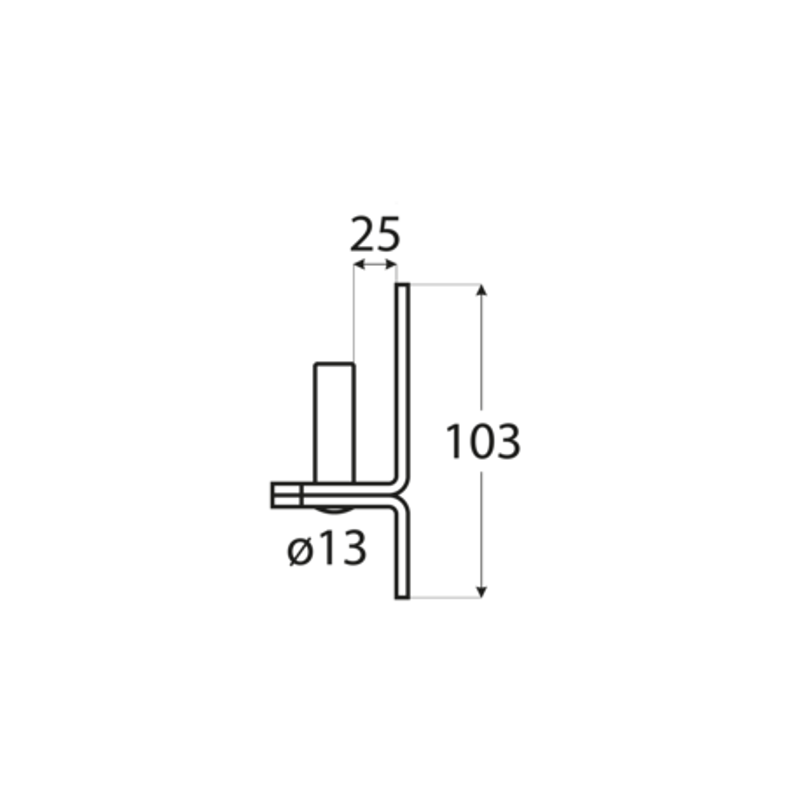 C 13/25C - ČIERNY