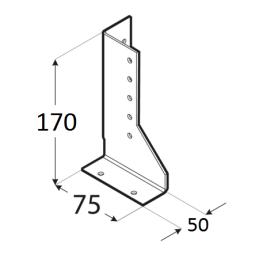 Trámová papuča - WBD 170P