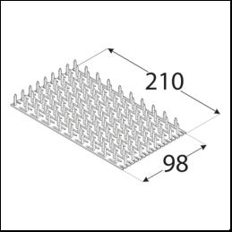 Styčníková doska PK 15-1021
