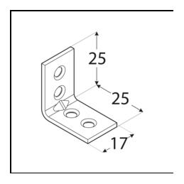 Uholník - KWC 1 ČIERNY